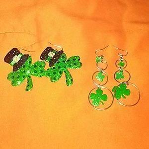 St. Patrick's earring 2 set